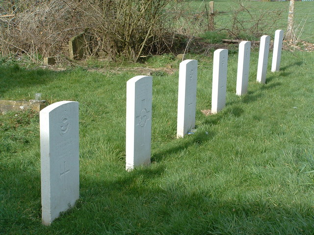 WWII Airmen's Graves