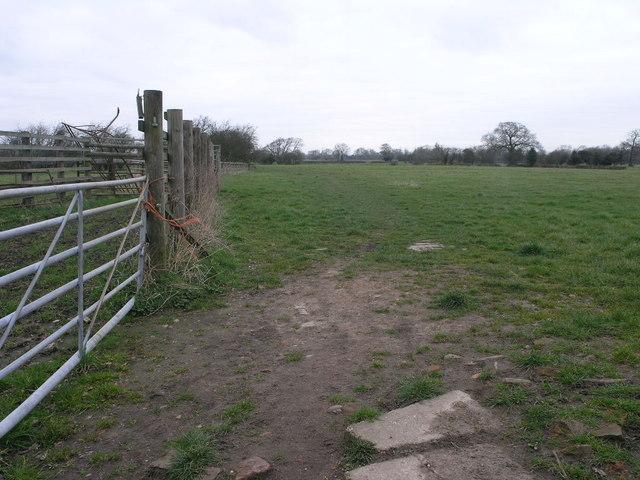 Path to Tutbury