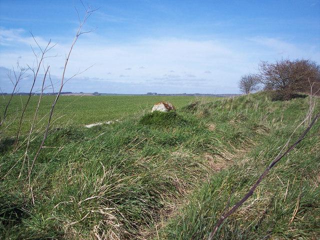 Roman Milestone on the Achling Dyke