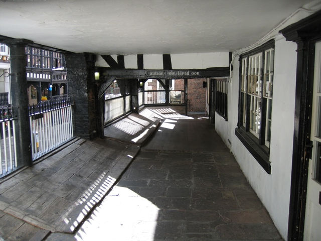Part of Watergate Row, Chester