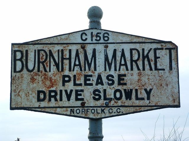 Pre Worboys Burnham Market Sign