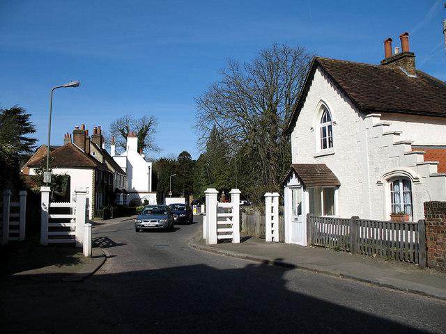 Gate on Hadley Green Road