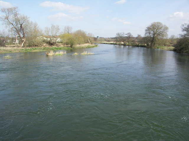 River Stour from Longham Bridge