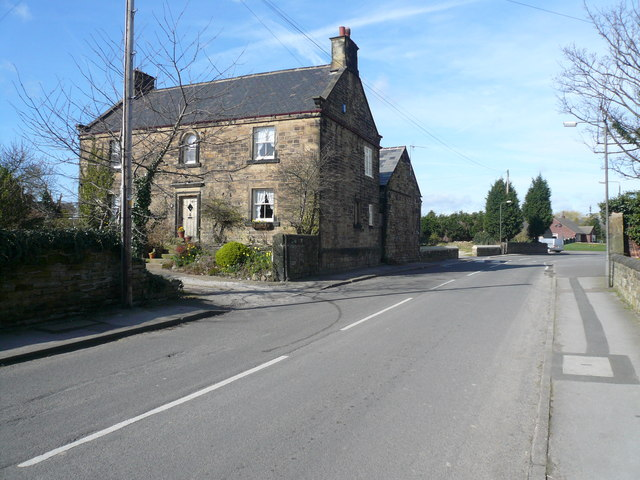 North Wingfield - Bright Street (Stone Building)