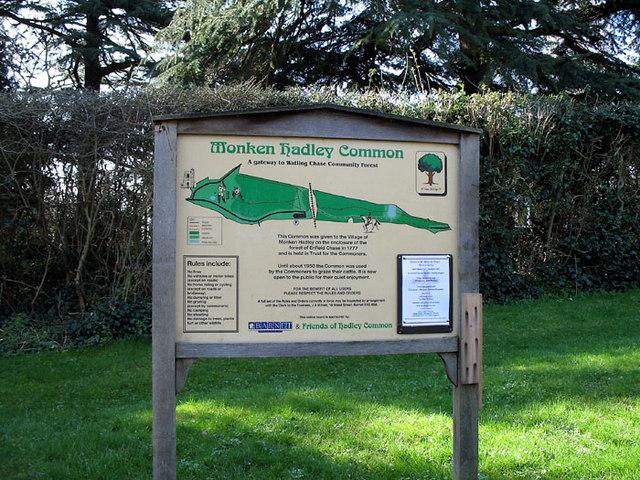 Monken Hadley Common Information