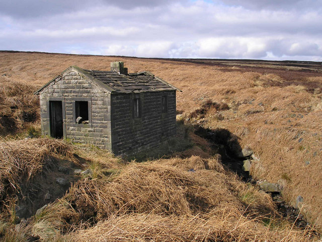 Derelict shooting box