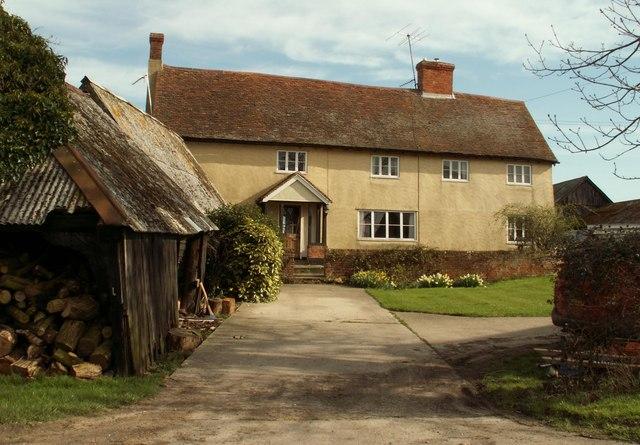Farmhouse at Houghton's Farm