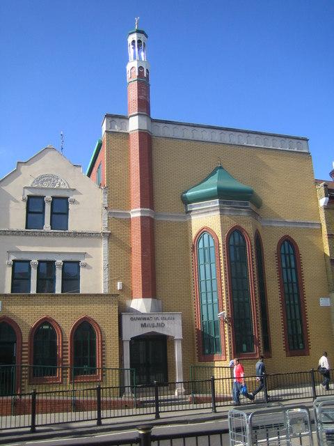 Forest Gate: Quwwat ul Islam Masjid, E7