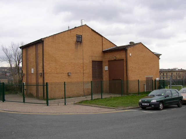 District heating (?), Eightlands, Dewsbury