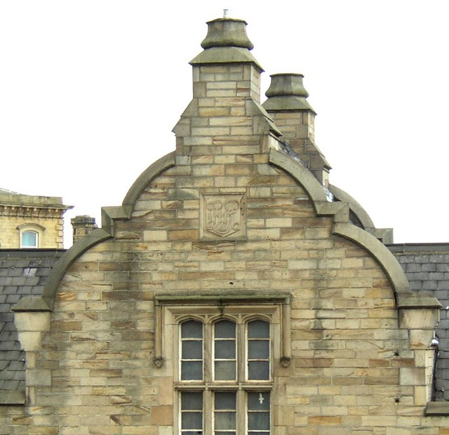 Gable of Dewsbury station