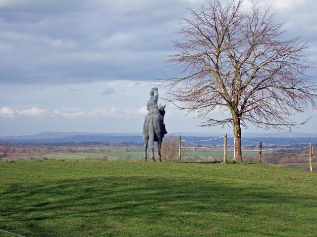 Equestrian Sculpture Stoke Wake