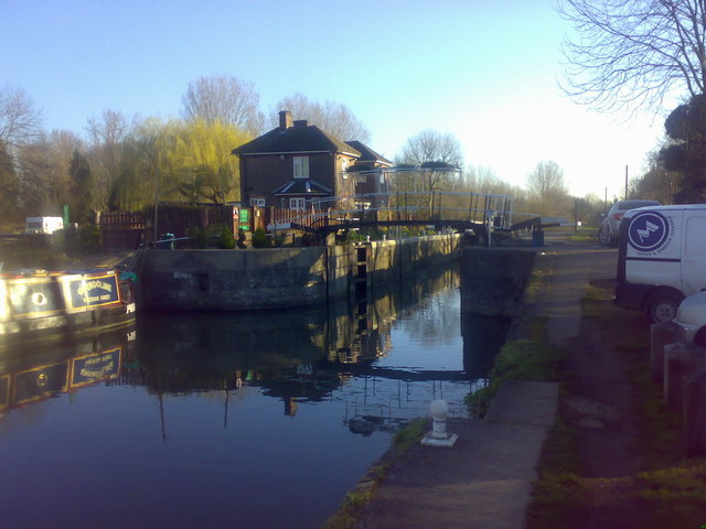 Carthagena Lock on the River Lee
