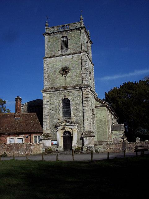 Wimborne St Giles Church