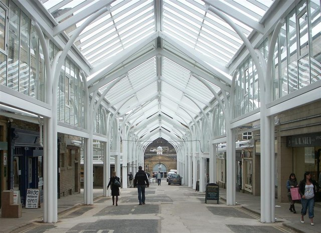 The new Westgate Shopping Centre