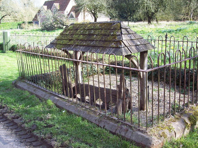 The Village Stocks, Wimborne St Giles