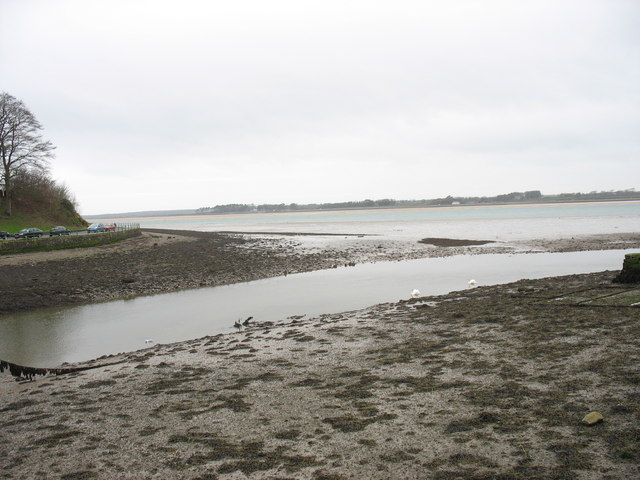 Aber Seiont at low water