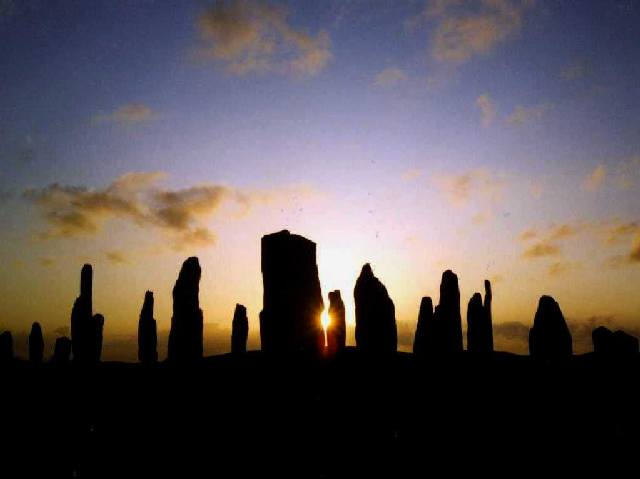 Callanish Standing Stones - Midsummer Sunset