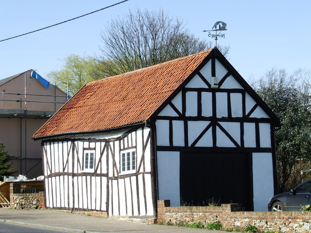 Half timbered building, Takeley Street
