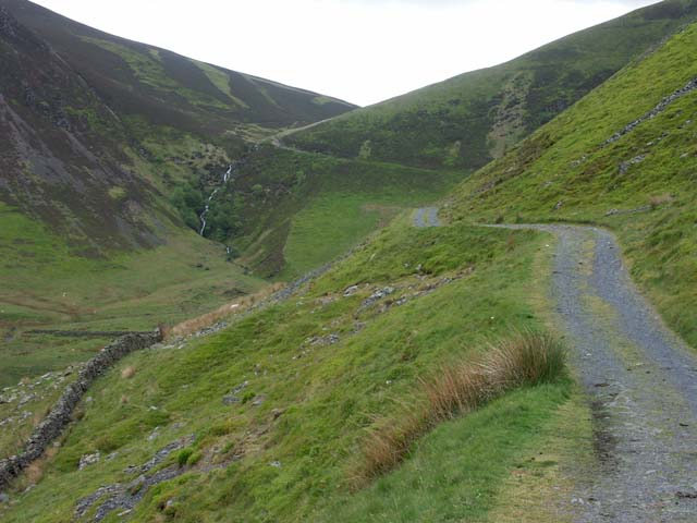 Cumbria Way approaching Whitewater Dash
