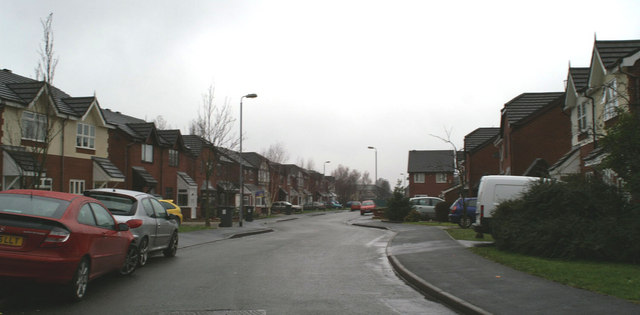 Lower end of Woodville Road, Spring View