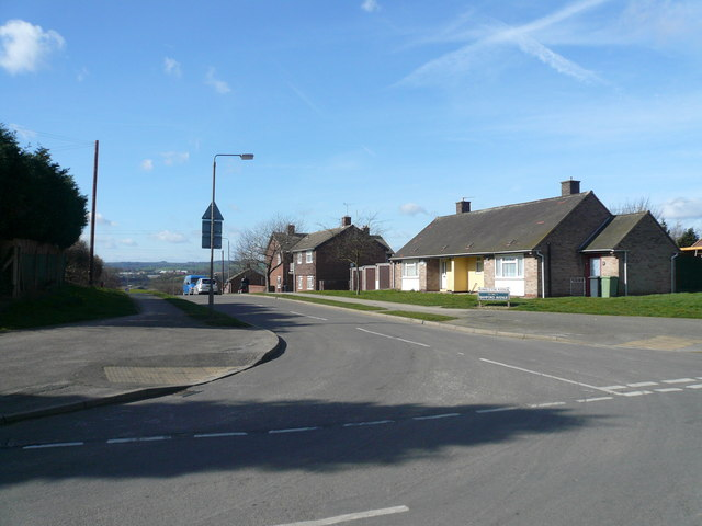 North Wingfield - Hambleton Avenue - Junction with Bright Street