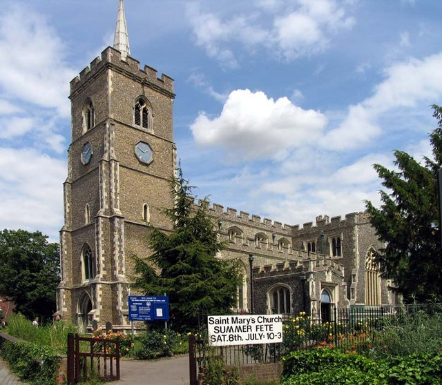 St Mary, Ware, Herts