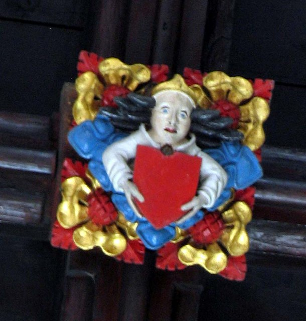 St Mary, Ware, Herts - Roof boss