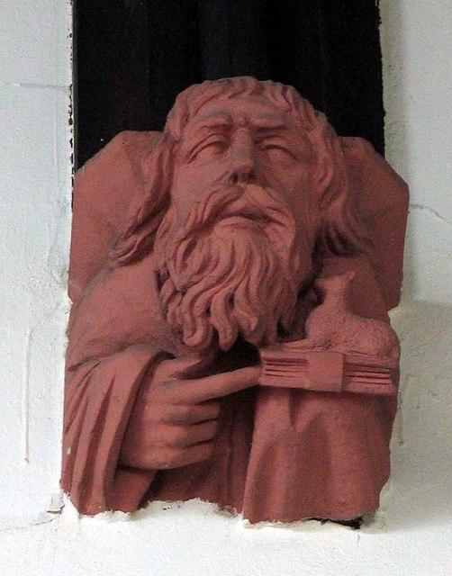 St Mary, Ware, Herts - Corbel