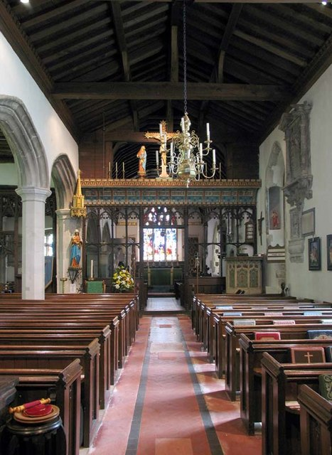 St Giles, South Mimms, Herts - East end