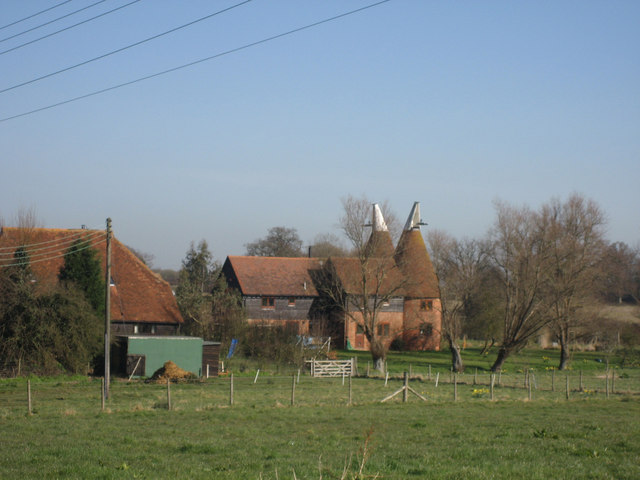 River Hall Oast, River Hall, Cot Lane, Biddenden, Kent