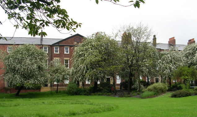 Queen Square, off Woodhouse Lane