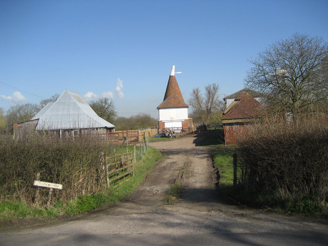 Oast House at Tearnden Farm, Smarden Road, Bethersden, Kent