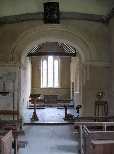 St Mary, Little Hormead, Herts - East end