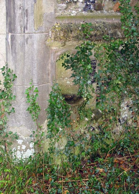 St Bartholomew, Layston, Herts - Ruin