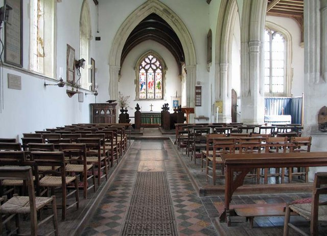 St Andrew, Buckland, Herts - East end