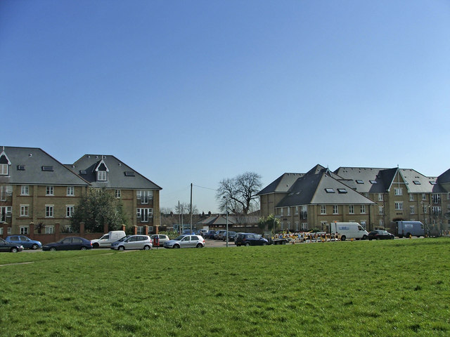 Apartment Blocks on site of St Michael's Hospital, Chase Side, Enfield