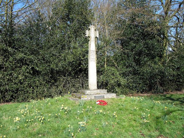 Monken Hadley War Memorial