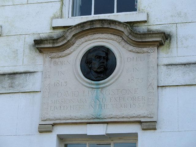 David Livingstone Plaque