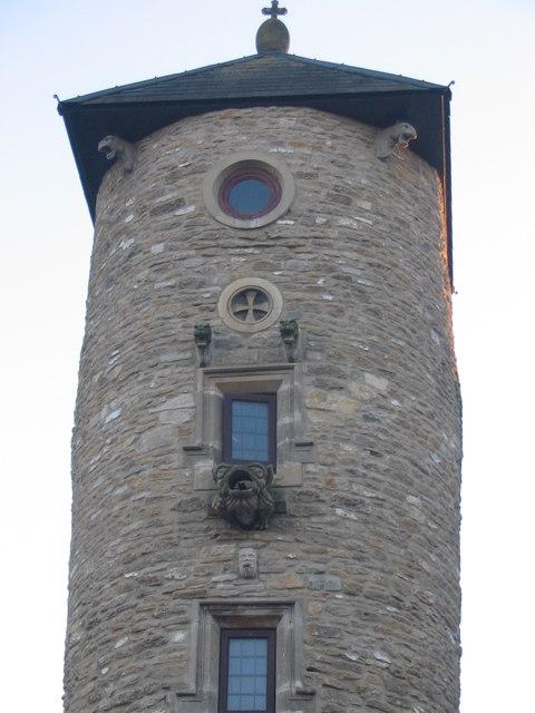 Gargoyles on the Pumpkin Tower