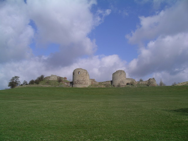 The Ruins of Chartley Castle
