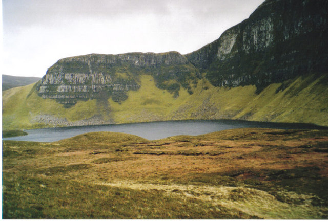 Loch Sneosdal with Creag Sneosdal behind