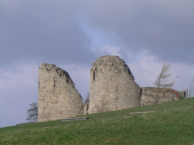 Chartley Castle's Towers