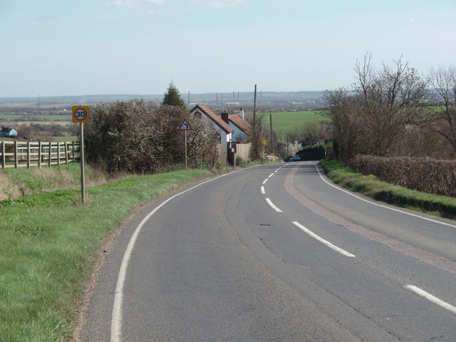 East from Cranfield