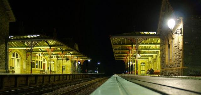 Grange-over Sands Railway Station