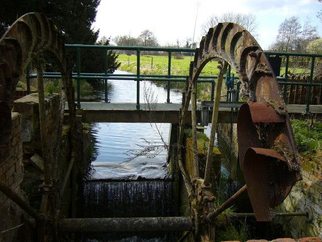 Water Wheel, Great Bardfield, Essex