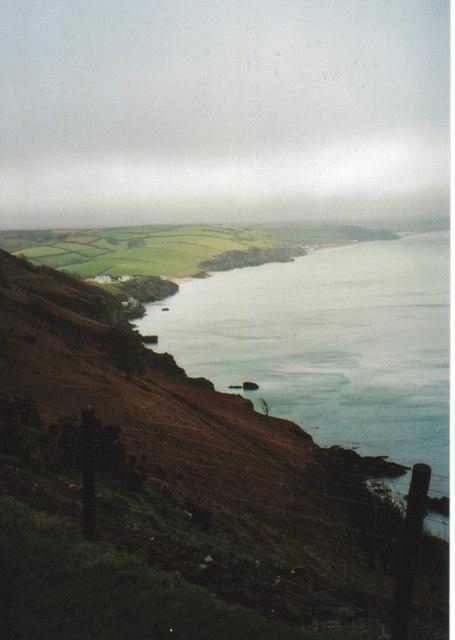 Along the coastal path