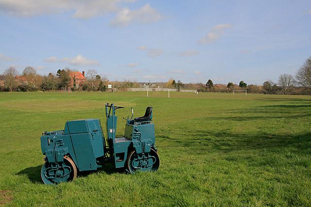 Whiteparish cricket and football playing fields