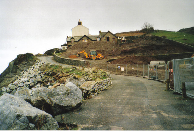 Hallsands hotel-gone!