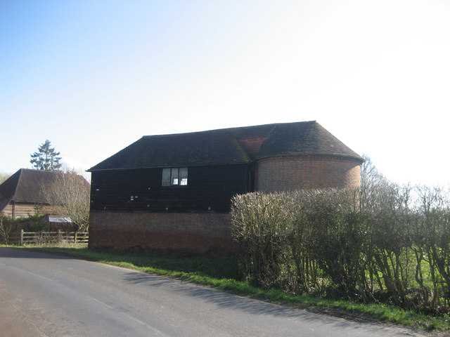 Unconverted Oast House at Langley, Bethersden Road, Bethersden