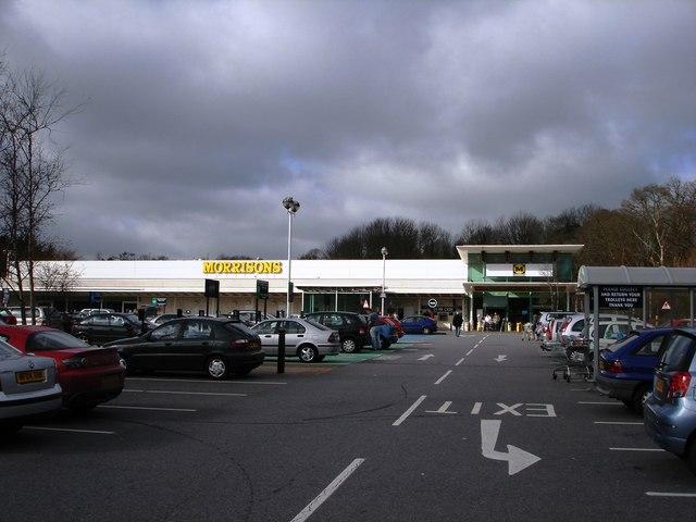Supermarket, opposite Paignton Zoo
